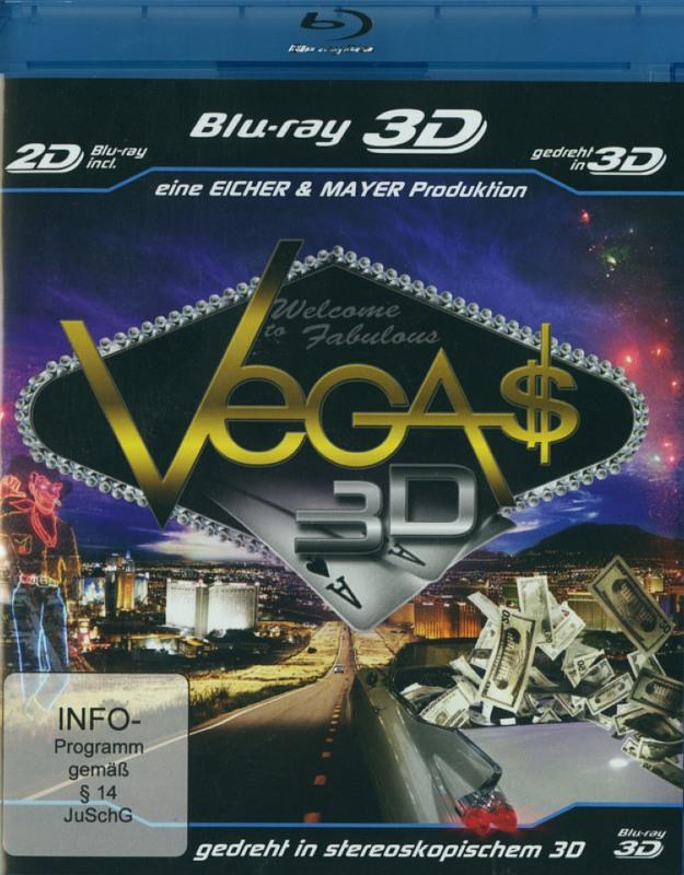 Vegas 3D Blu-ray Bild