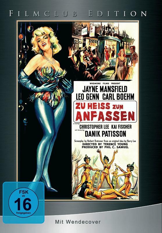 Zu heiss zum Anfassen - Filmclub Edition 1 DVD Bild