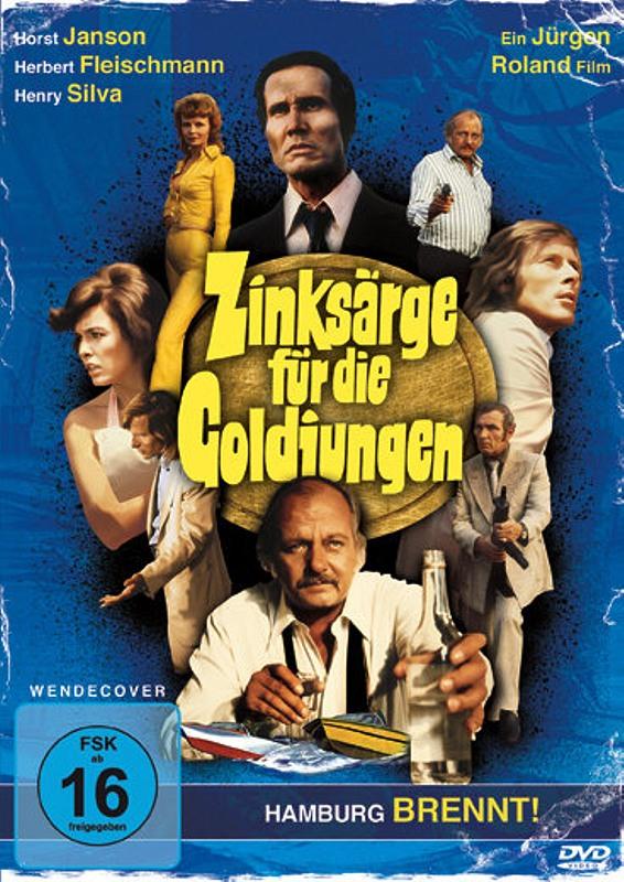 Zinksärge für die Goldjungen DVD Bild