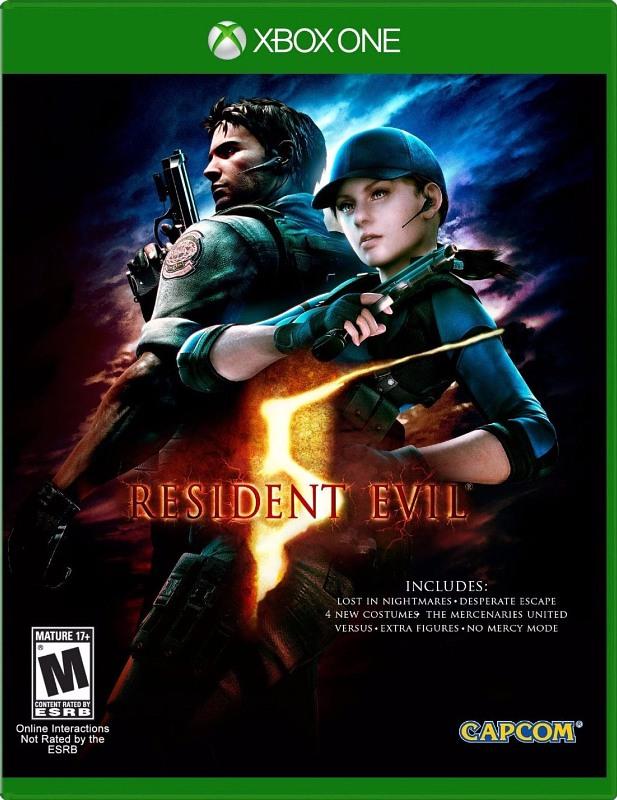Resident Evil 5 (US-Version / Codefree) XBox One Bild
