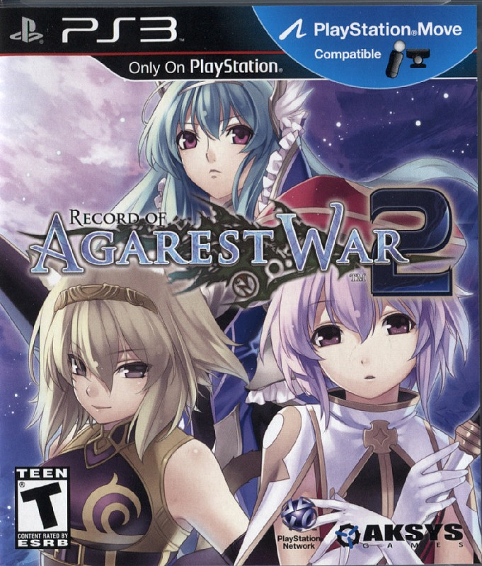 Record of Agarest War 2 PS3 Bild