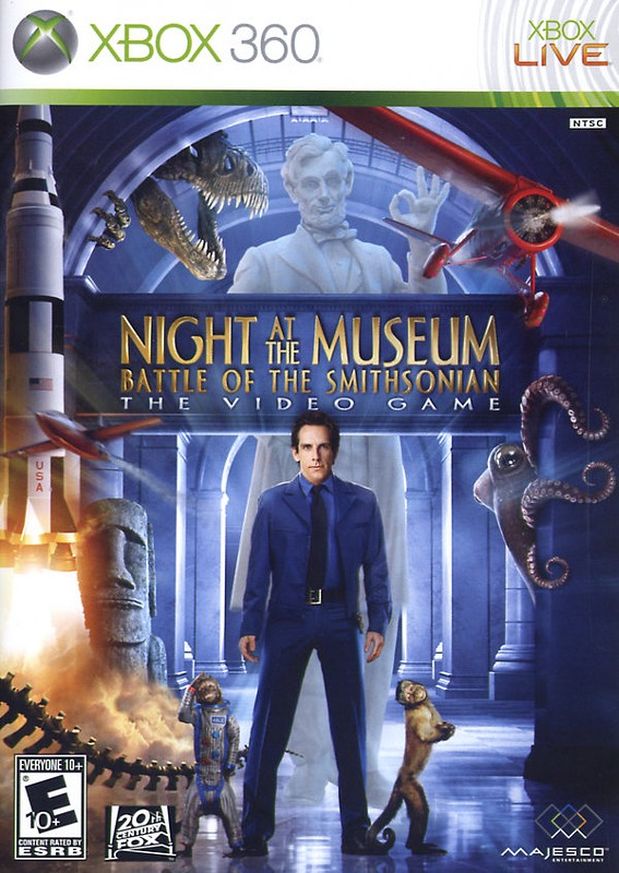 Nachts im Museum 2 - Battle of the Smithsonian XBox 360 Bild