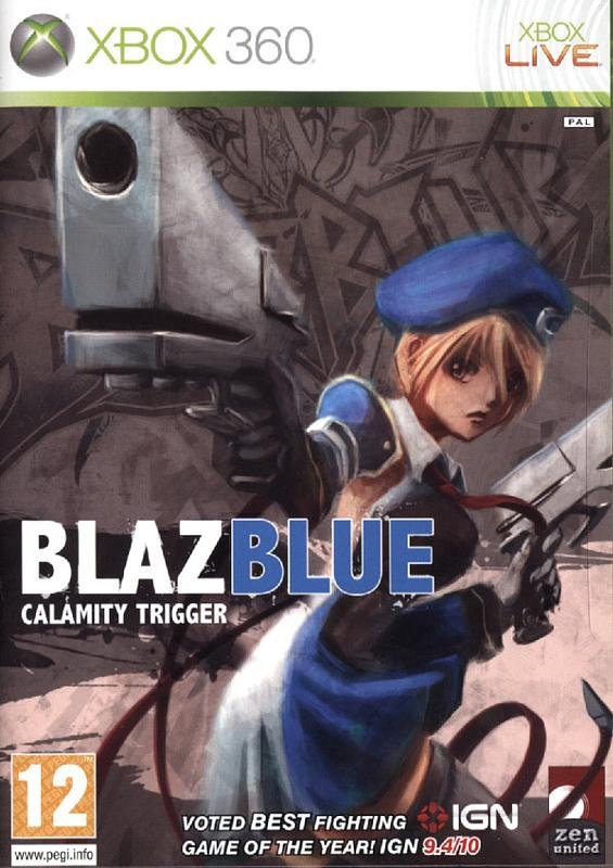 BlazBlue - Calamity Trigger (englische Version) XBox 360 Bild