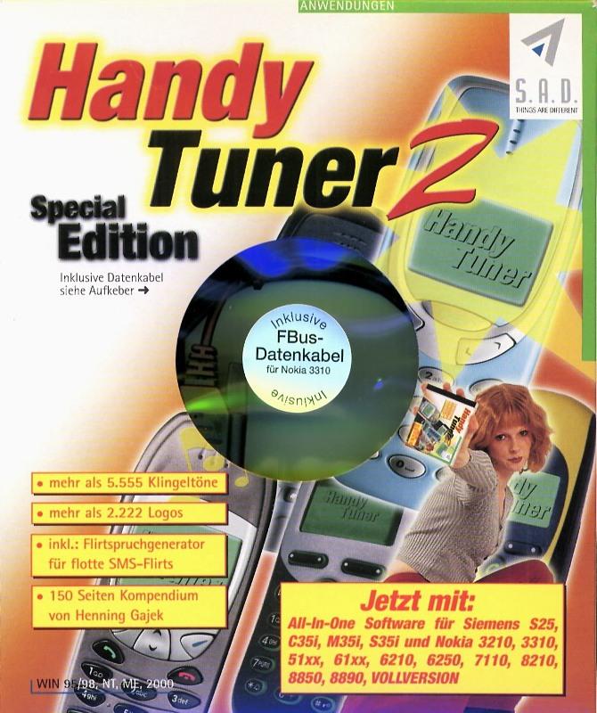 Handy Tuner 2 Special Edition Nokia 3310 PC Bild