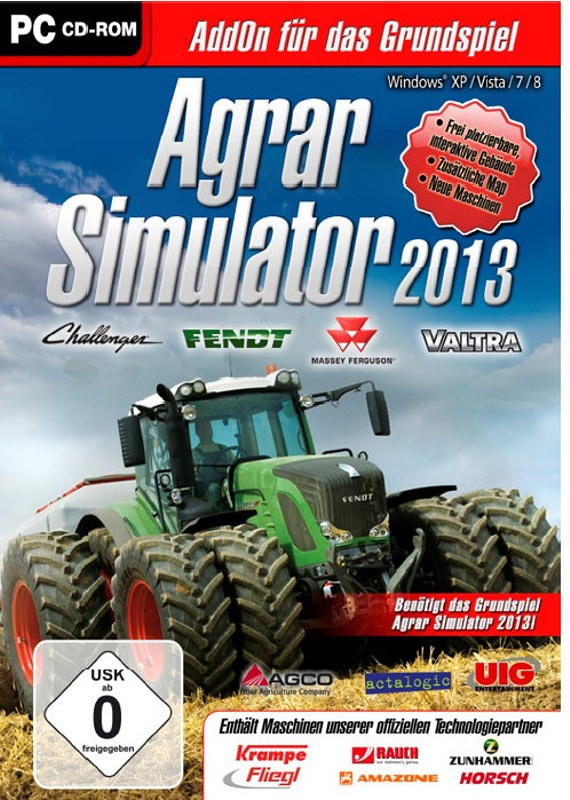 Agrarsimulator 2013 Add-On 1 PC Bild