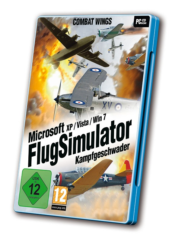 Microsoft Flugsimulator Kampfgeschwader PC Bild
