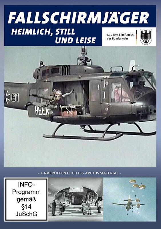 Fallschirmjäger - heimlich, still und leise DVD Bild