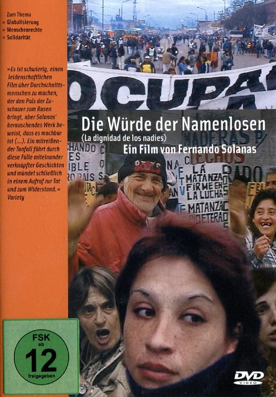 Die Würde der Namenlosen (OmU) DVD Bild
