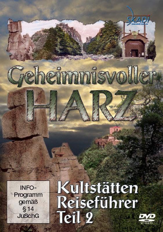 Geheimnisvoller Harz - Kultstätten Reiseführer 2 DVD Bild