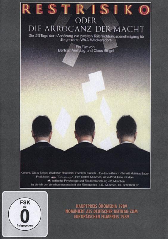 Restrisiko oder die Arroganz der Macht DVD Bild