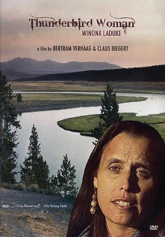 Die Donnervogelfrau - Winona LaDuke  (engl.) DVD Bild