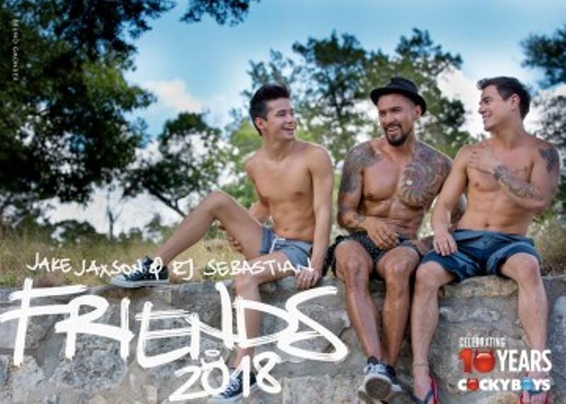 Friends 2018 - Wandkalender Gay Buch / Magazin Bild