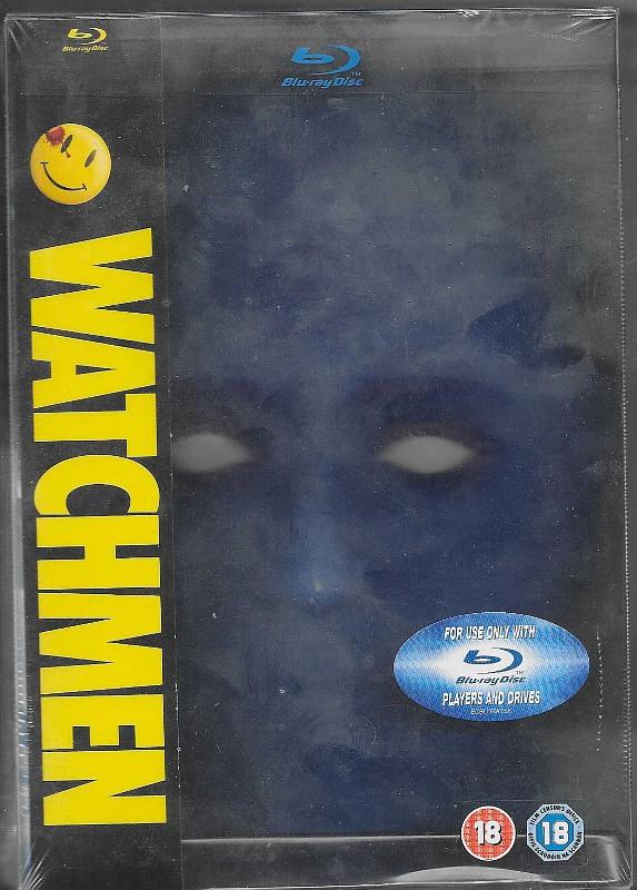 Watchmen - Dr. Manhattan Case UK Blu-ray Bild