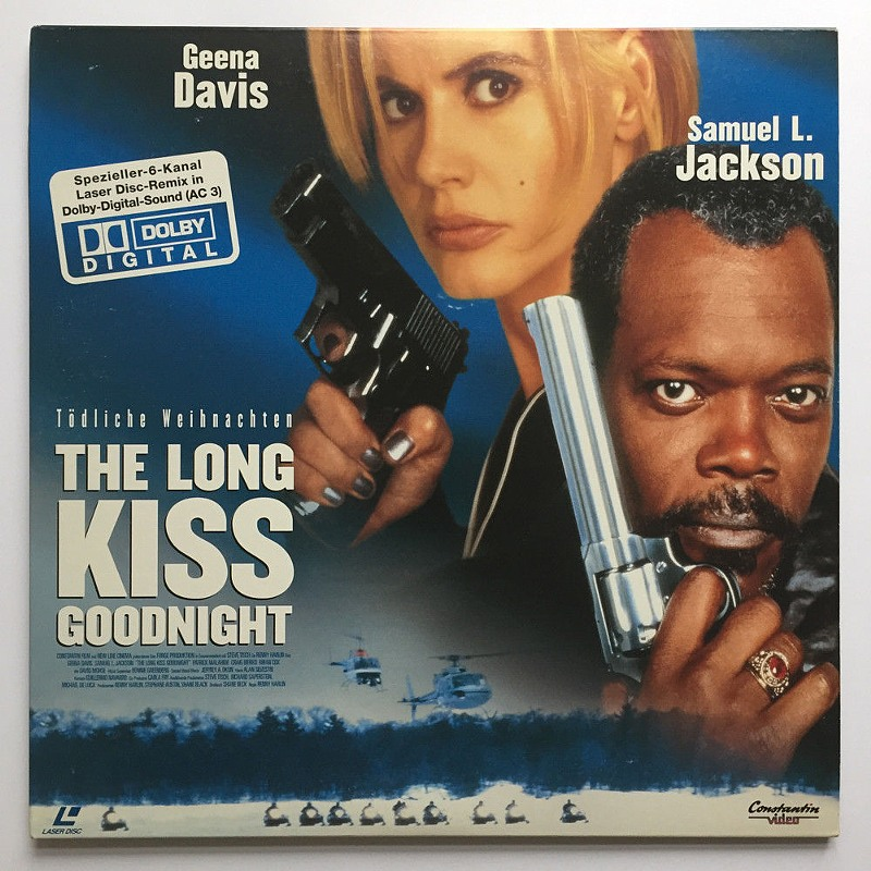 Tödliche Weihnachten: The Long Kiss Goodnight - Laserdisc Laserdisk Bild
