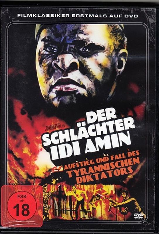 Der Schlächter Idi Amin DVD Bild