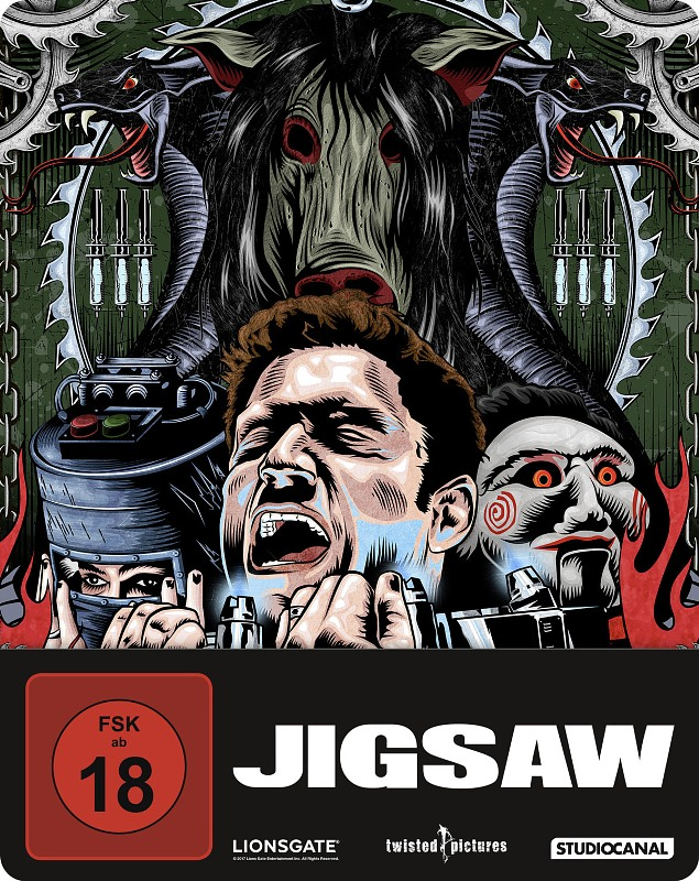 Jigsaw - SteelBook Blu-ray Bild