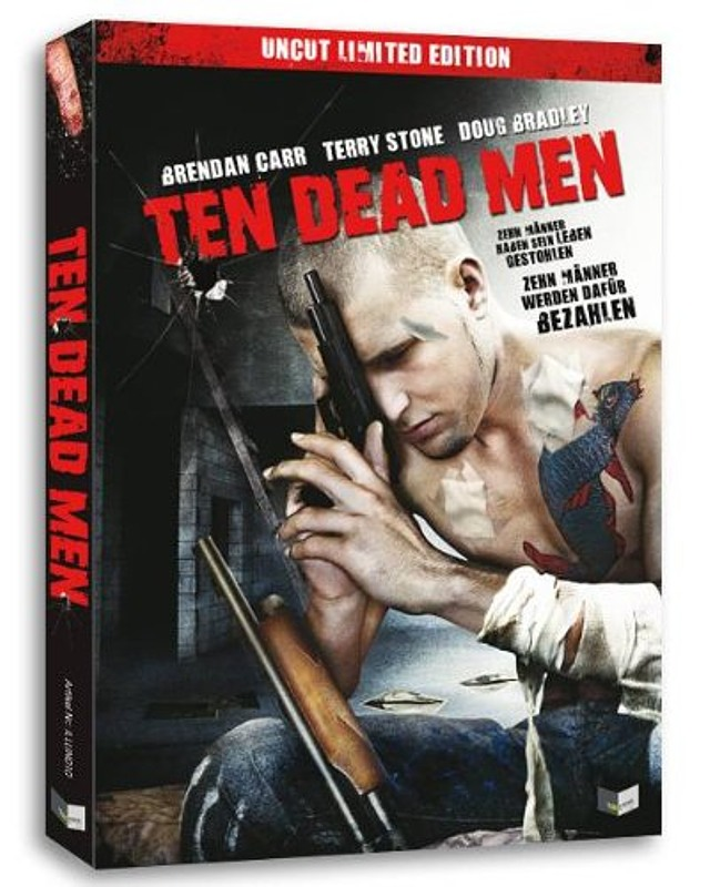 Ten Dead men - Uncut Limited Edition DVD Bild