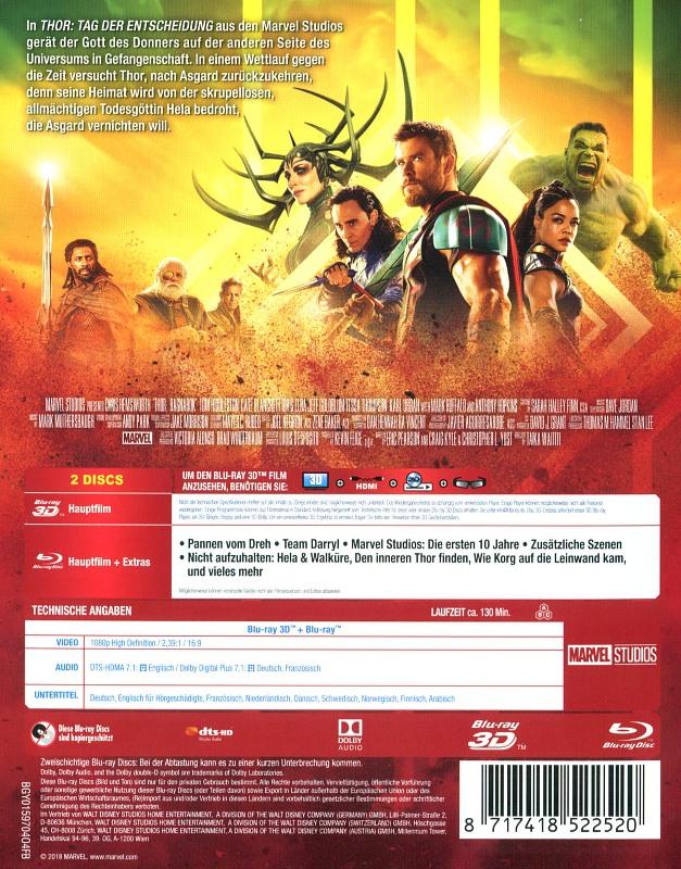 Thor: Tag Der Entscheidung Erscheinungsdatum