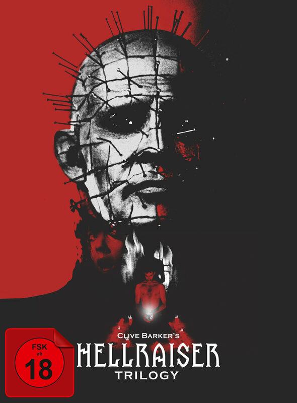 Hellraiser - Trilogy  [CE] [5 DVDs] DVD Bild