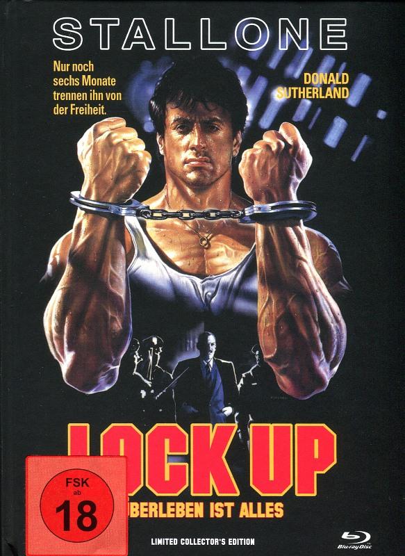 Lock Up - Limited Collectors EditionMediabook Blu-ray Bild