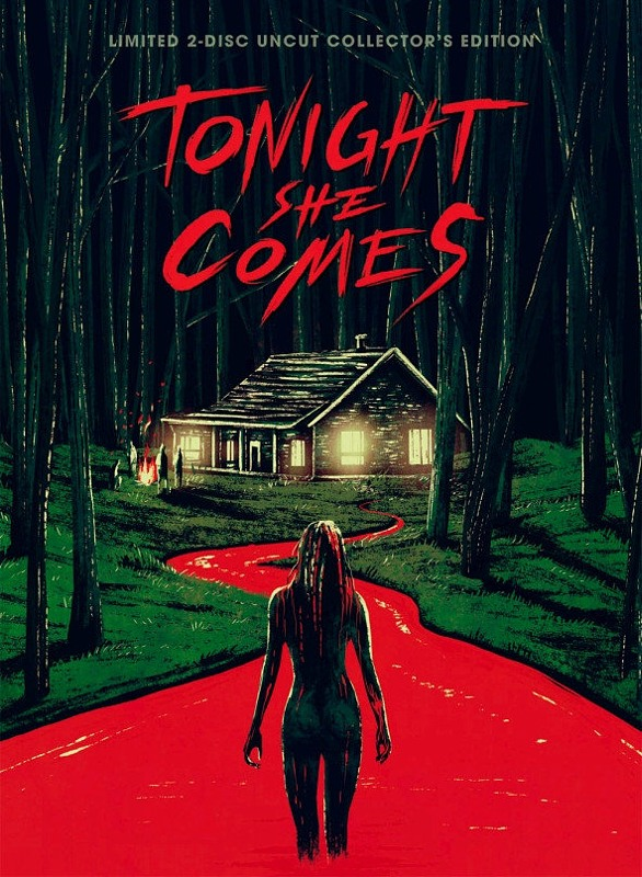 Tonight She Comes - Limited 2-Disc Uncut Collectors Edition - Cover A (Blu-ray + DVD) Blu-ray Bild