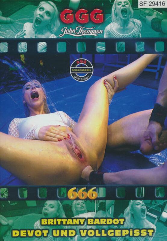 Brittany Bardot - Devot und vollgepisst DVD Bild