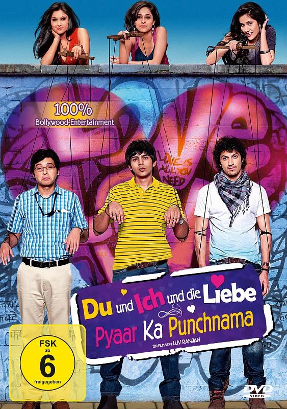 Du und ich und die Liebe - Pyaar ka Punchnama DVD Bild