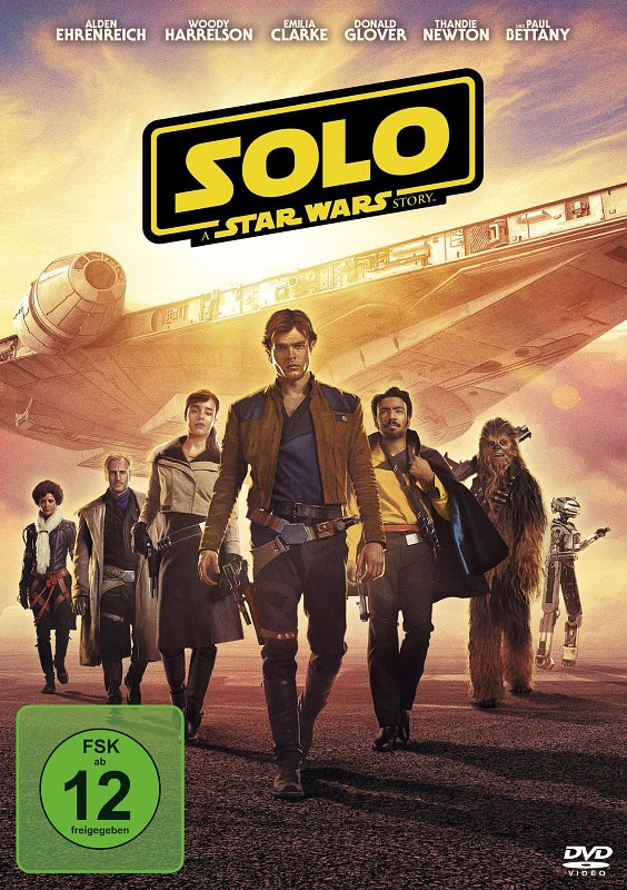 Solo - A Star Wars Story DVD Bild
