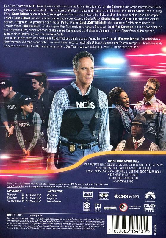 Ncis New Orleans Staffel 2 Deutschland