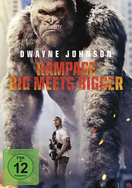 Rampage - Big Meets Bigger DVD Bild