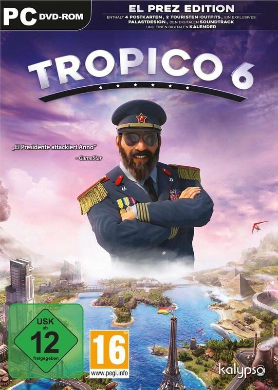 Tropico 6 PC Bild