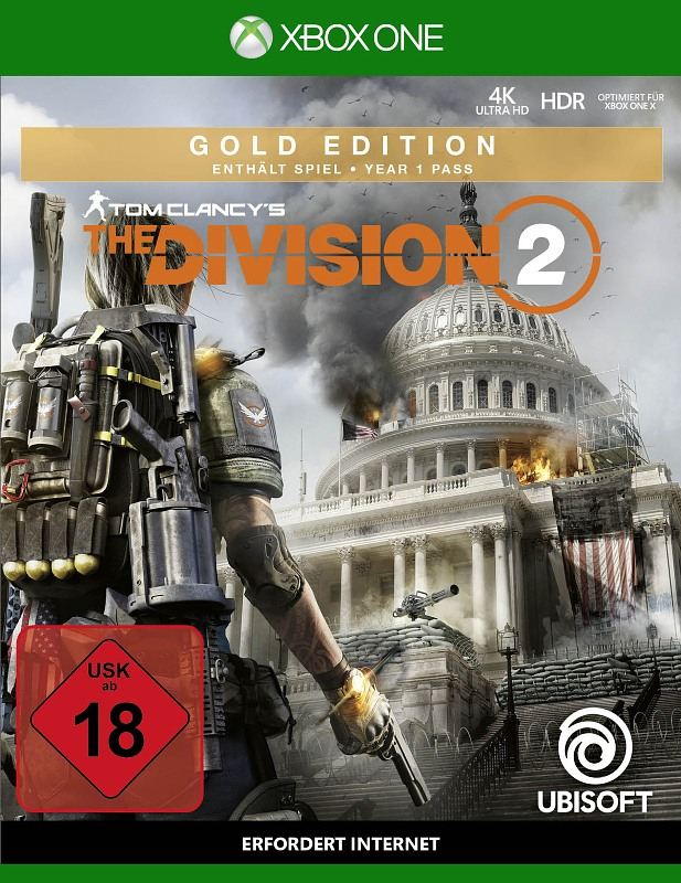 Tom Clancy's - The Division 2 (Gold Edition ) XBox One Bild