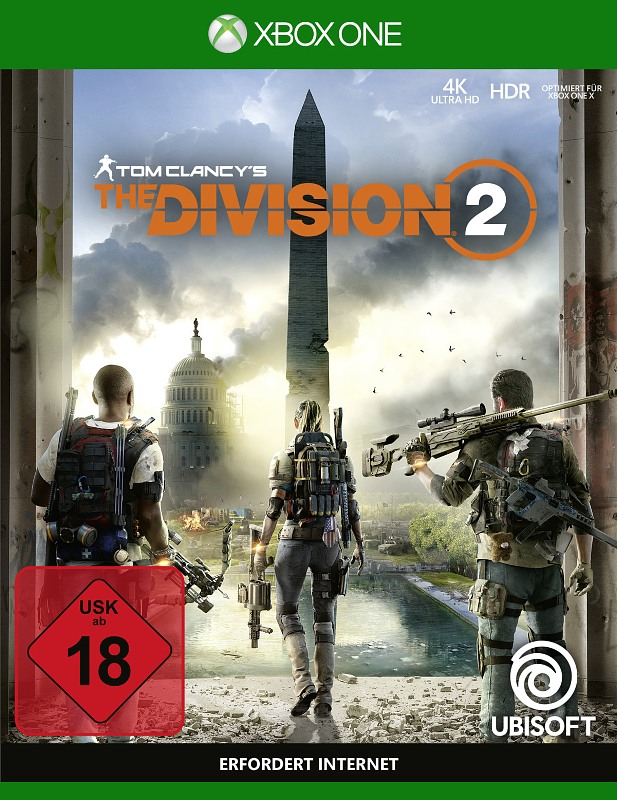 Tom Clancy's - The Division 2 XBox One Bild