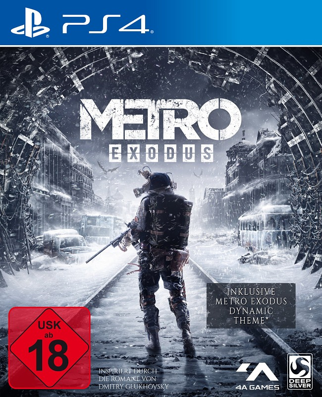 Metro Exodus Playstation 4 Bild