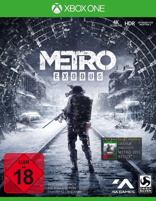 Metro Exodus XBox One Bild