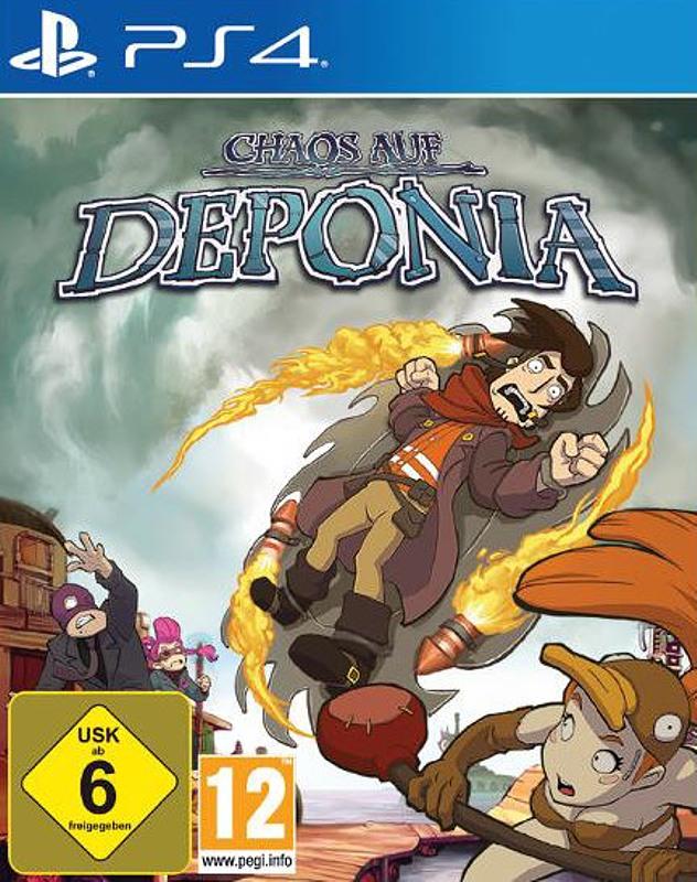 Chaos auf Deponia Playstation 4 Bild