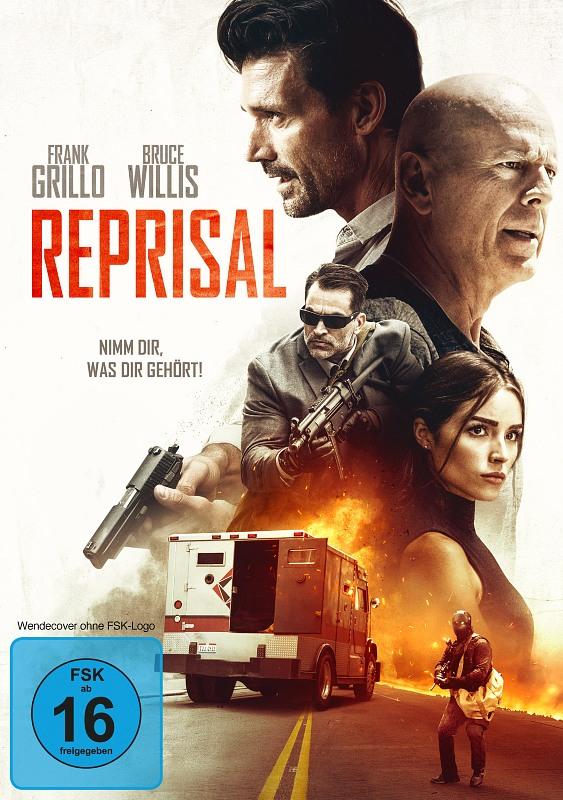 Reprisal - Nimm dir, was dir gehört! DVD Bild