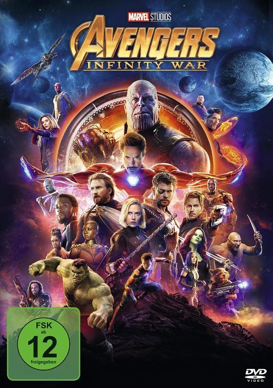 Avengers: Infinity War DVD Bild