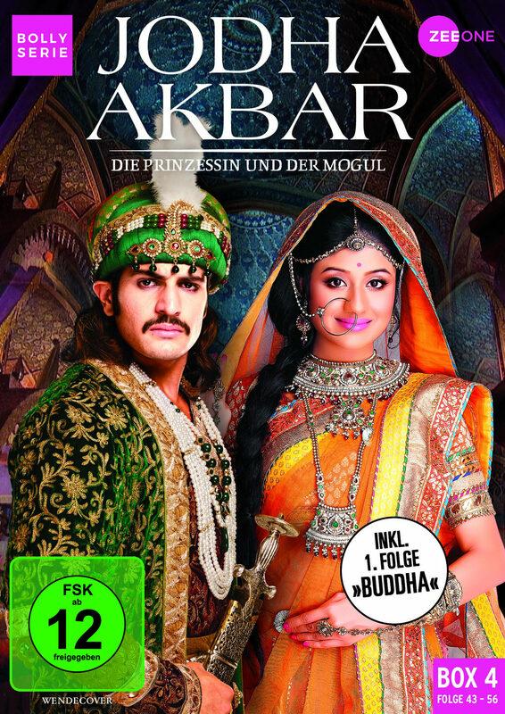Jodha Akbar - Die Prinzessin und der Mogul Box 4 DVD Bild