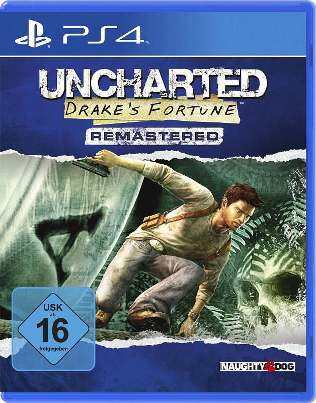 Uncharted - Drakes Fortune (Remastered) Playstation 4 Bild