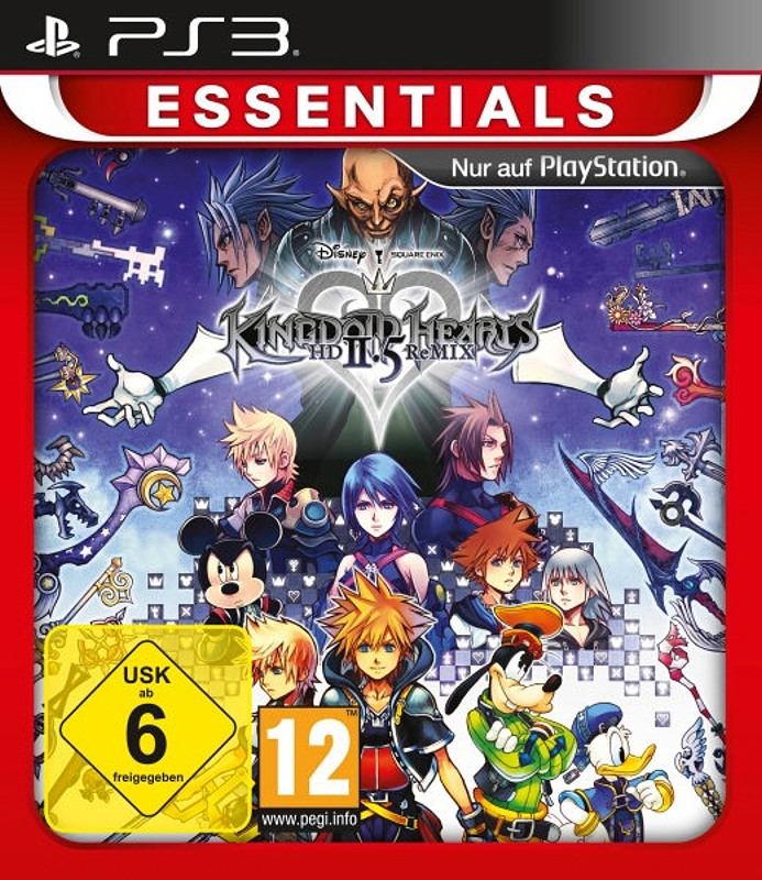 Kingdom Hearts HD 2.5 ReMIX PS3 Bild