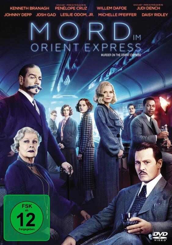 Mord im Orient Express DVD Bild