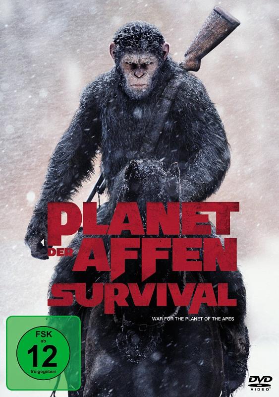 Planet der Affen: Survival DVD Bild