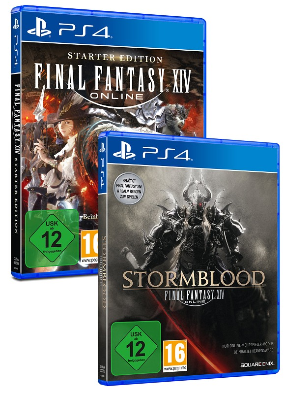 Final Fantasy XIV Online - Double Pack Playstation 4 Bild
