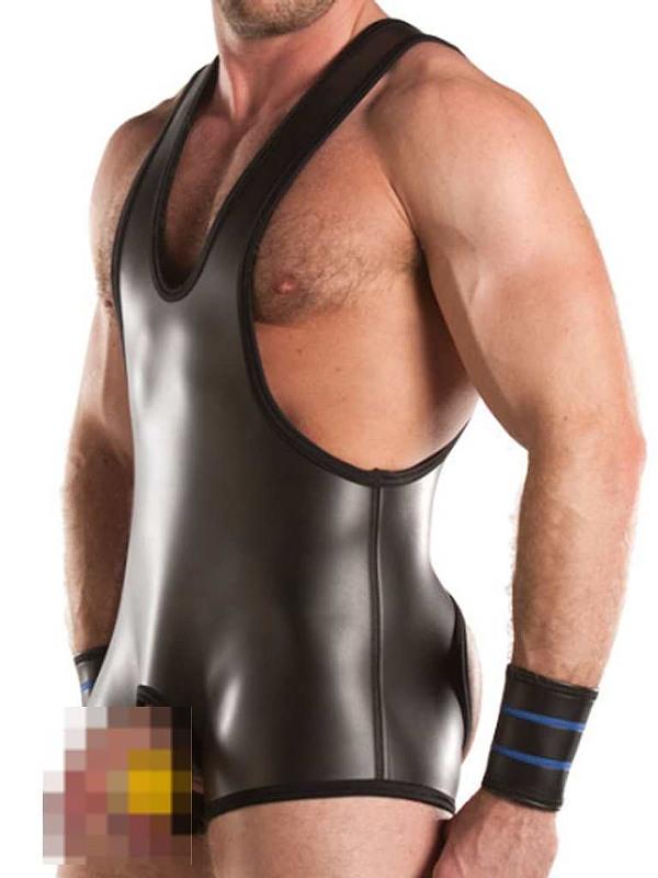 Wrestling Body Neopren Gay Kleidung Bild
