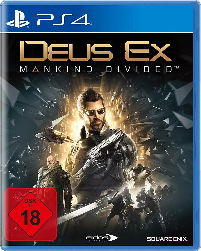 Deus Ex: Mankind Divided Playstation 4 Bild