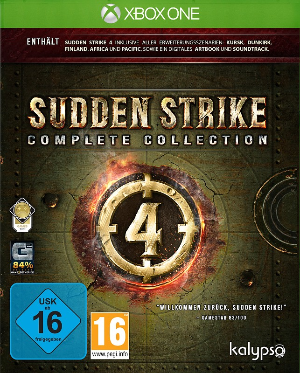Sudden Strike 4: Complete Collection XBox One Bild