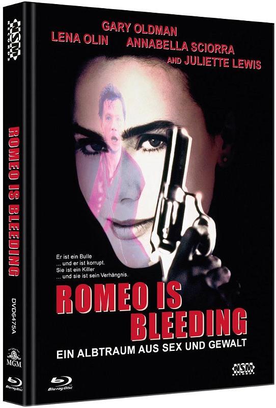 Romeo is Bleeding - 2-Disc Mediabook (Cover A) - limitiert auf 333 Stück Blu-ray Bild