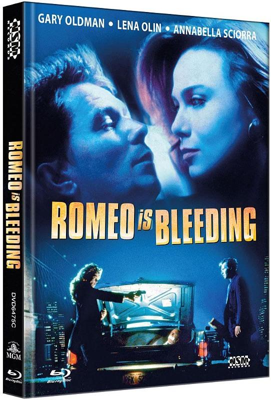 Romeo is Bleeding - 2-Disc Mediabook (Cover C) - limitiert auf 111 Stück Blu-ray Bild