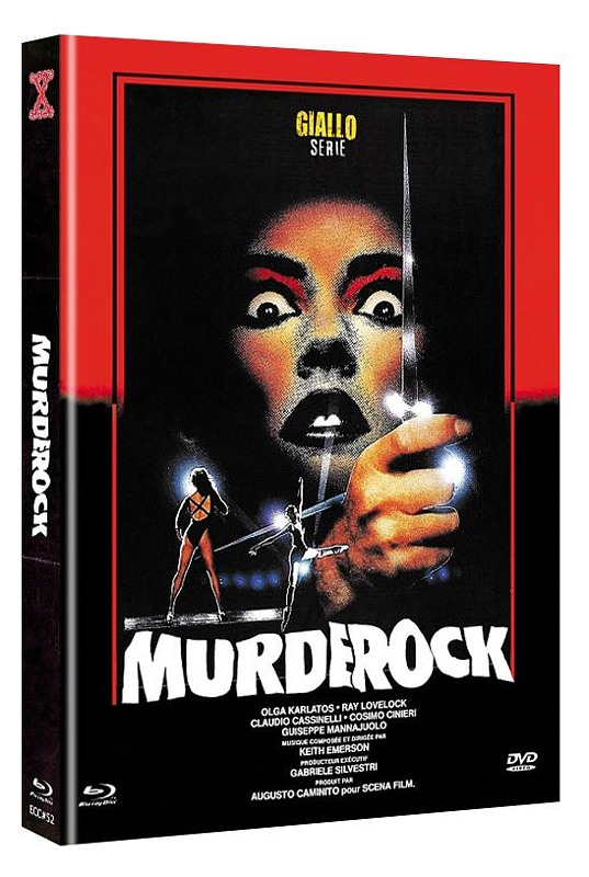 Murder Rock UNCUT 2-Disc Mediabook (Cover C) - limitiert & nummeriert auf222 Stk. Blu-ray Bild